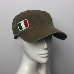 "Army Green ""Italia"" Military Hat"